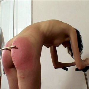 Best of Naked Bent Over Caning
